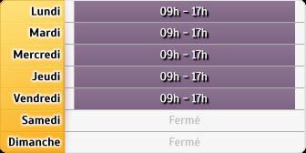 Horaires CAF Ombrée d'Anjou