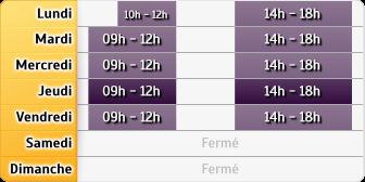Horaires du AXA Assurance FRANCOIS YVERT, 9 BIS PLACE HERVO