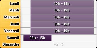 Horaires La Poste - Paris Reine Blanche