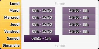 Horaires Crédit Agricole Cannes - Hôtel de Ville