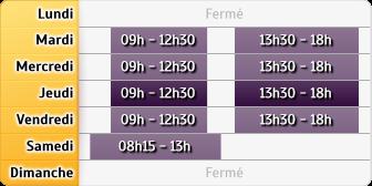 Horaires Crédit Agricole Cannes - la Bocca