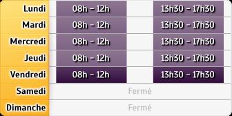 Horaires Cerfrance Aveyron (Laissac)