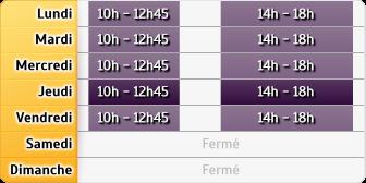 Horaires Gmf Assurances - Brest