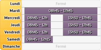 Horaires du Credit Mutuel Anglet Saint Jean, 17 Rue Amedee Dufourg