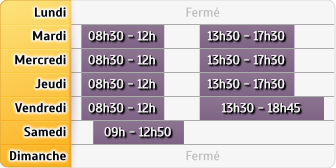 Horaires Société Générale - TALANT