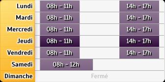 Horaires La poste - Besançon