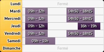 Horaires Crédit Agricole Thaon-Les-Vosges