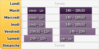 Horaires Crédit Agricole Chessy Ariane
