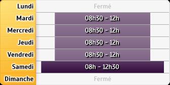 Horaires du Crédit Agricole Chateauneuf Sur Isere, 4, avenue de Valence