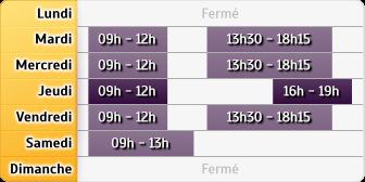 Horaires Crédit Agricole Saint-Die-Thiers