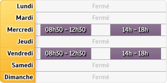 Horaires Crédit Agricole - Cérilly