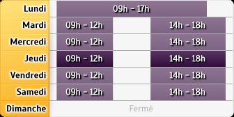 Horaires du AXA Assurance MARC BERANGER - Bernay, 3 AVENUE LIBERGE DE GRANCHAIN