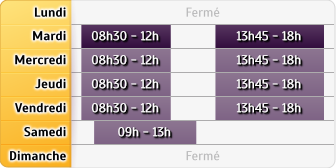 Horaires Allianz - Fismes