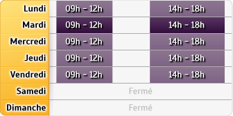Horaires AXA Assurance Farinet,hanauer,fernoux,maunoury