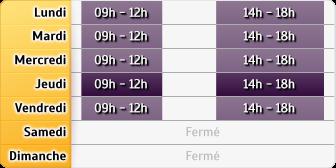 Horaires AXA Assurance Touzeau-Lamouche-Camus-Pineau