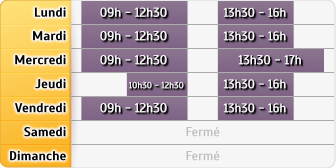 Horaires Maif - Epinal