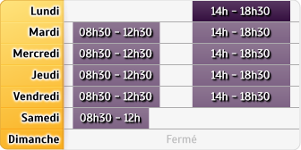 Horaires AXA Assurance THIERRY GREDER