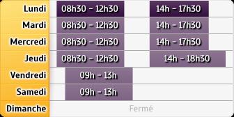 Horaires BNP Paribas Vizille
