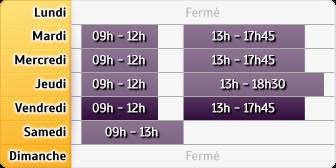 Horaires du Crédit Agricole Pole Expertises Epinal, 10, Quai Jules Ferry