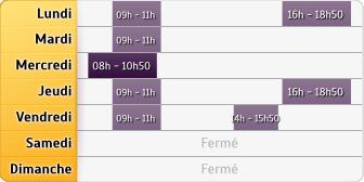 Horaires La Poste - Vennecy