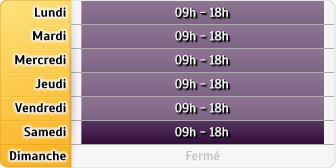 Horaires La Poste - Angers Place Herault