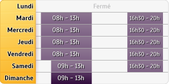 Horaires La Poste - La Poueze - Anjou