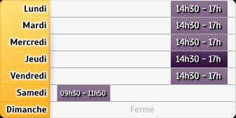 Horaires La Poste - Le Bourg d Ire - Anjou