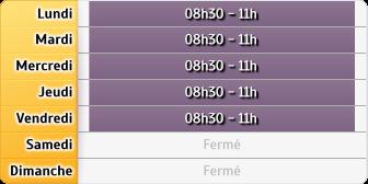 Horaires La Poste - Boudou