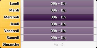 Horaires La Poste - Lancon Provence Val de Sibourg