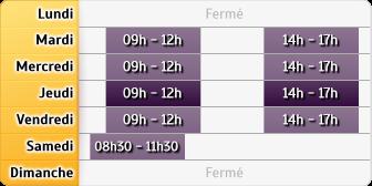 Horaires La Poste - Villefontaine A
