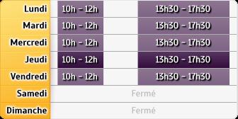 Horaires La Poste - Sauvagnon Lpac