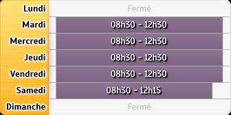 Horaires Société Générale - Chambéry