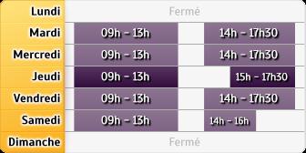 Horaires LCL Paris Patay