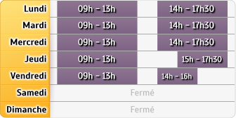 Horaires LCL Paris Rochechouart