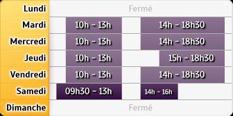Horaires LCL Dury Les Amiens