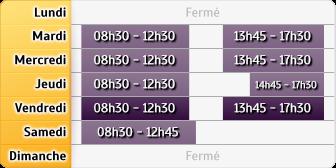 Horaires LCL Alencon Foch