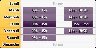 Horaires LCL Paris Cardinet