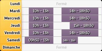 Horaires LCL Amiens Les Halles