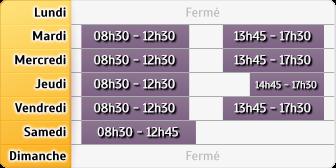 Horaires LCL St Jean de Monts