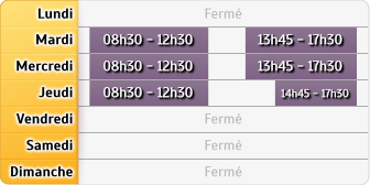 Horaires LCL Caussade