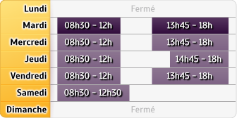 Horaires LCL Nancy Painleve