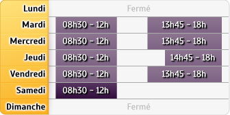 Horaires LCL Dombasle S/meurthe