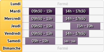 Horaires LCL Carrieres Seine