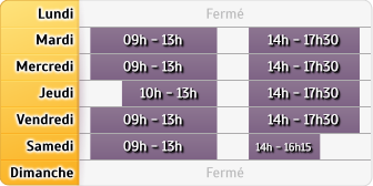 Horaires LCL Asnieres Ch Gaulle