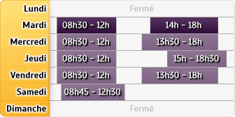Horaires LCL Gieres