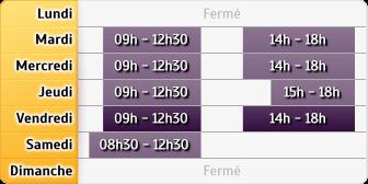 Horaires LCL Bruay la Buissiere