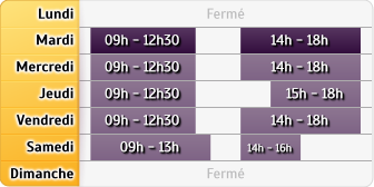 Horaires LCL Chilly Mazarin