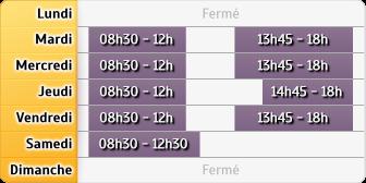 Horaires LCL Sainte Menehould