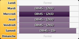 Horaires Société Générale Florensac