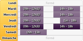 Horaires LCL Gisors
